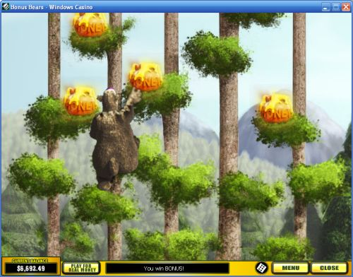 bear casino game