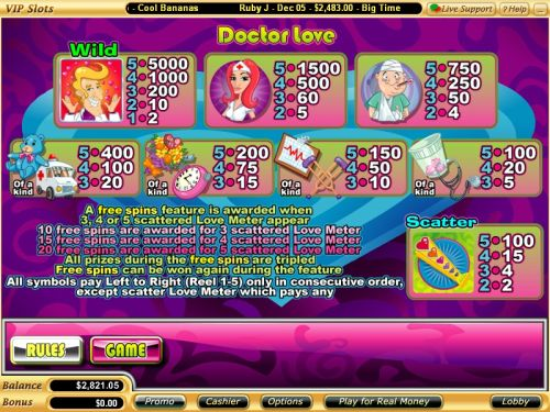 doctor love flash game