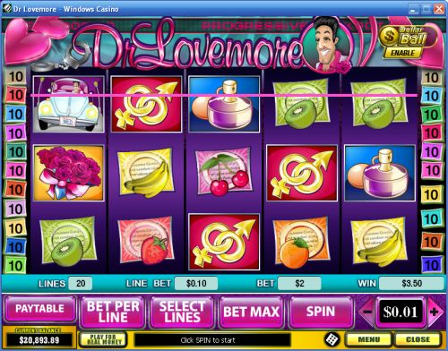 dr lovemore playtech slot