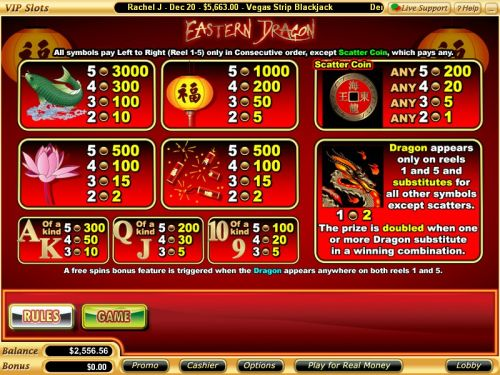 eastern dragon flash game