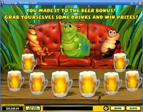 happy bugs casino game