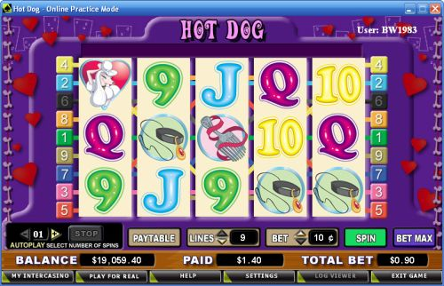 hot dog casino game