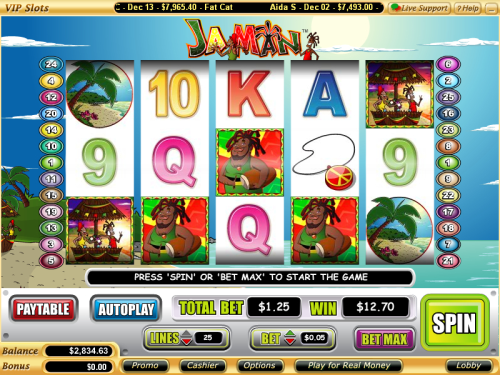 ja man video slot