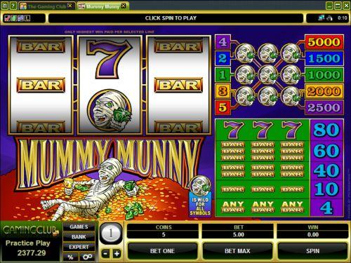 mummy munny classic slot