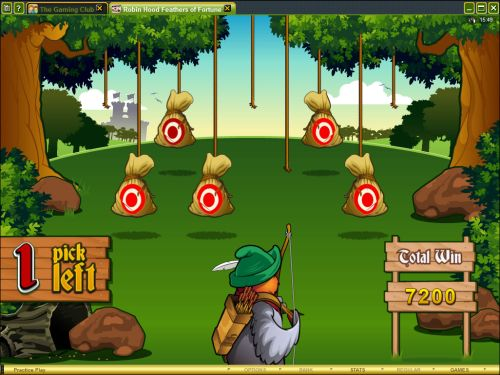 robin hood flash game