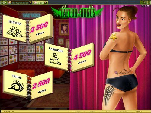 hot ink casino tattoo game