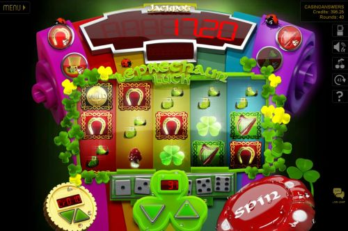 leprechaun luck flash game