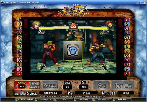 street fighter 4 casino flash game