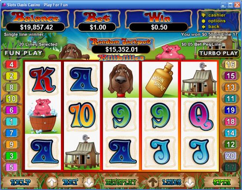hillbillies rtg video slot