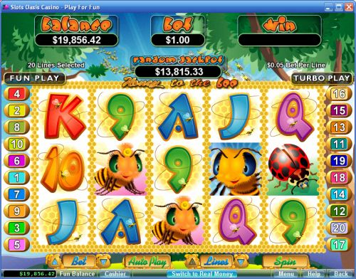 honey to the bee video slot