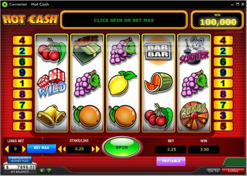hot cash slot