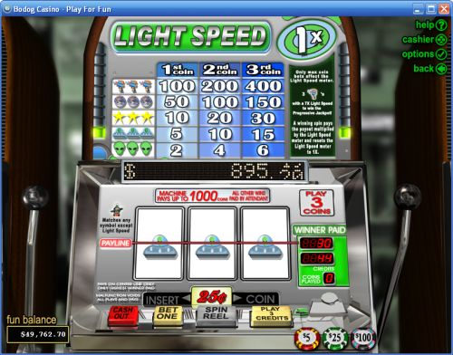 light speed classic slot