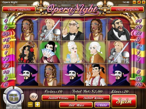 opera night flash game