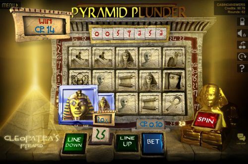 pyramid plunder slot
