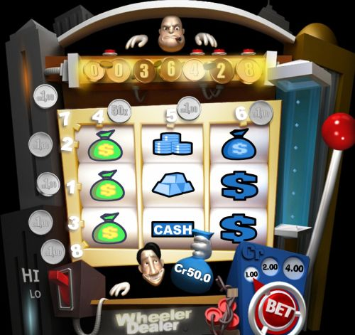 wheeler dealer casino flash game