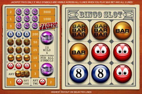 bingo slot progressive jackpot