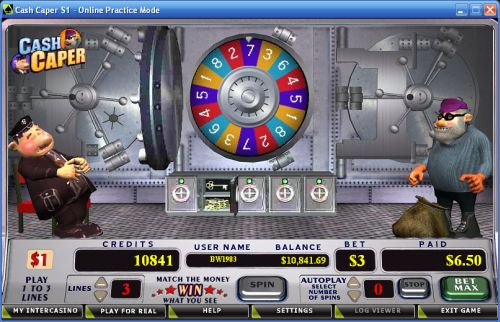 cash caper slot