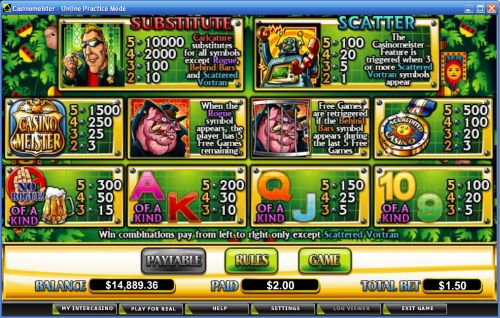 casinomeister flash game