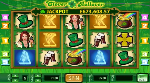 clover rollover video slot