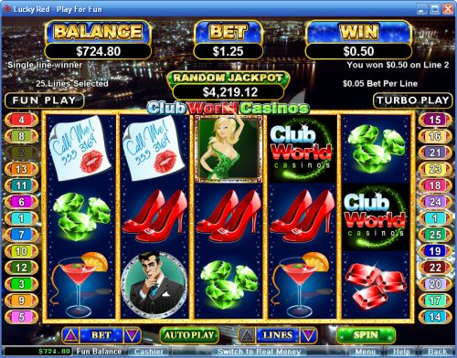 club world casino slot