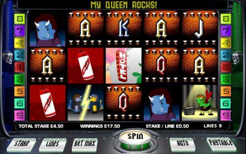 creatures of rock slot