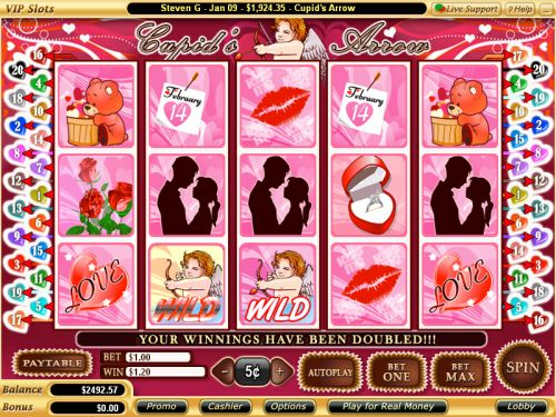 cupids arrow video slot