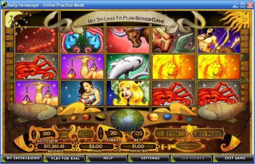 horoscope slot