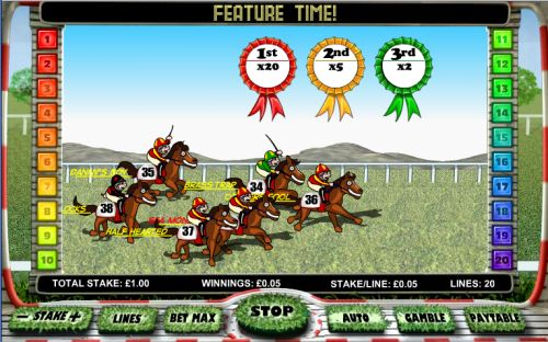 day at the races flash game