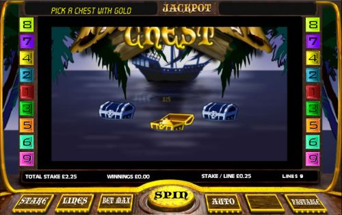 dead mans chest casino game
