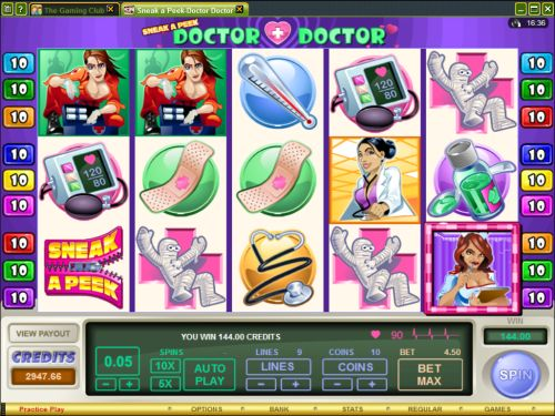 doctor doctor video slot