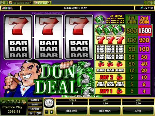 don deal classic slot