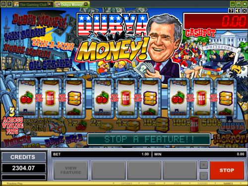 george bush flash game