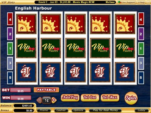 english harbour video slot