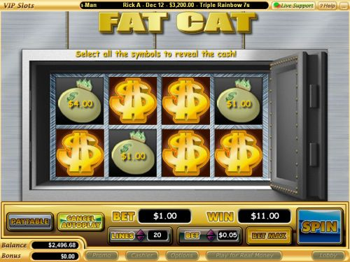 fat cat casino game