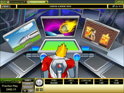 fearless frederick casino game