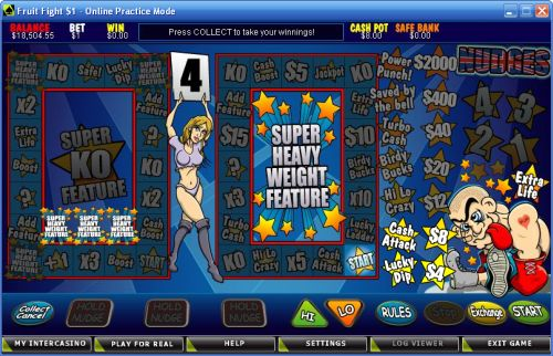 fruit fight fruit machine bonus game