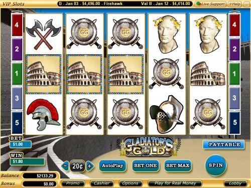 Gladiators Gold Slot Machine