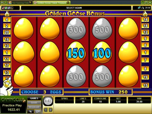 golden goose video slot