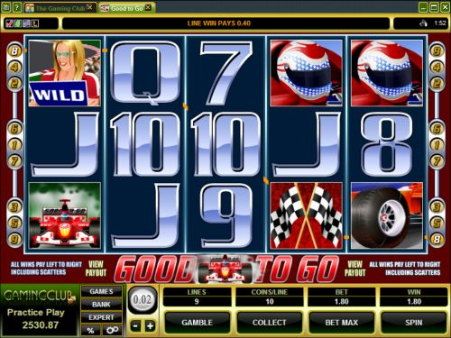 good to go video slot
