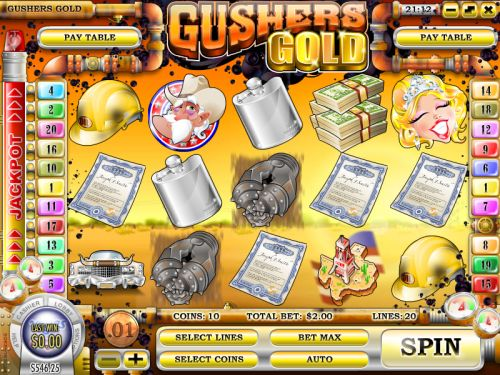 gushers gold video slot