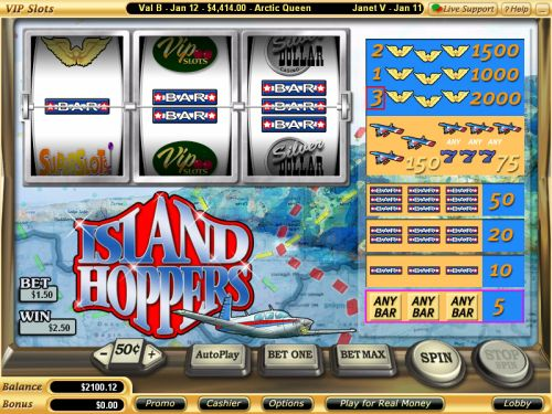 island hoppers video slot