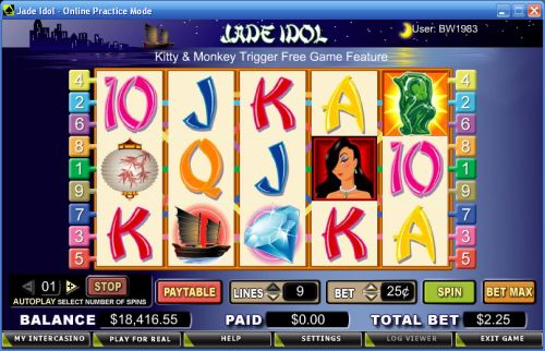 jade idol video slot