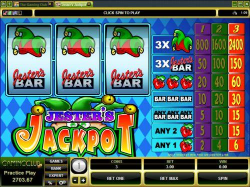 jesters jackpot classic slot