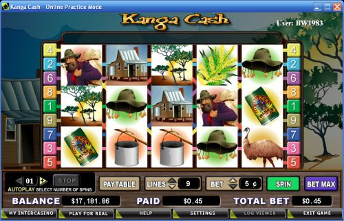 kanga cash slot