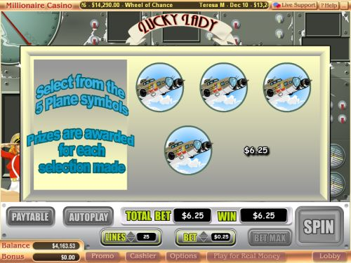 lucky lady casino game