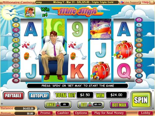 mile high video slot