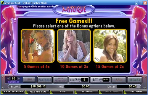 mystique club casino game