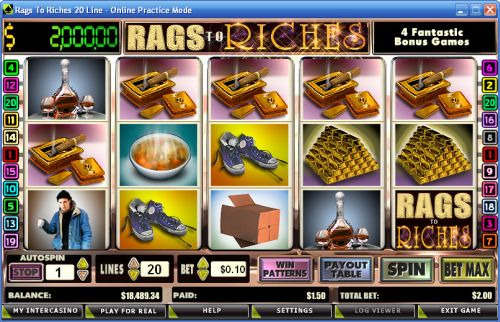 rags to riches video slot