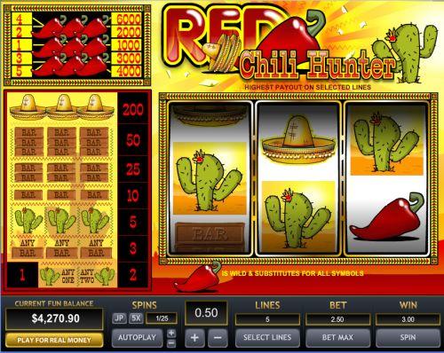Chili Peppers Slot Machine