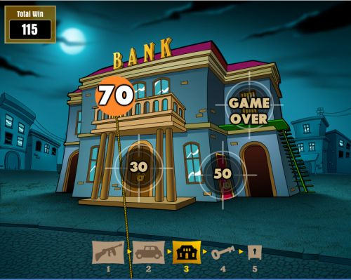 reel gangsters flash game